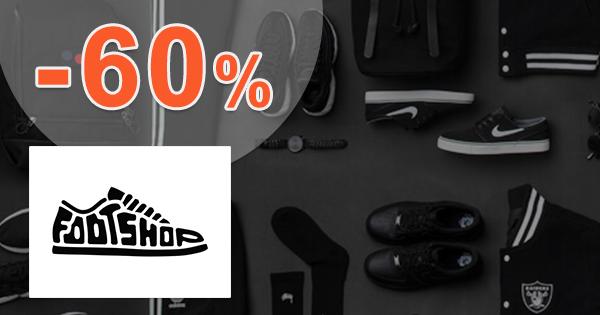Black Friday ZĽAVY až -60% na FootShop.sk