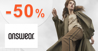 Black Friday výpredaj až -50% zľavy na Answear.sk