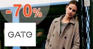 Výpredaj na dámske tričká až -70% na GATE.shop