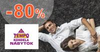 Dopredaj so zľavami až -80% na TempoNabytok.sk