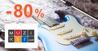 Akciový tovar až -80% zľavy na Muziker.sk
