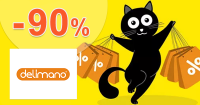 Black Friday výpredaj až -90% zľavy na Delimano.sk