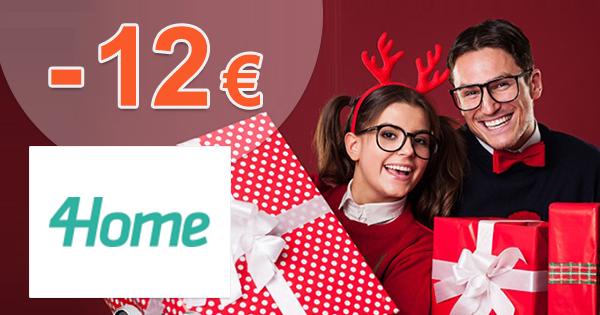 Black Friday zľavový kód -12€ zľava na 4Home.sk