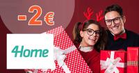 Black Friday zľavový kód -2€ zľava na 4Home.sk