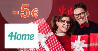 Black Friday zľavový kód -5€ zľava na 4Home.sk