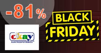 Blacky Friday ZĽAVY až -81% na Okay.sk