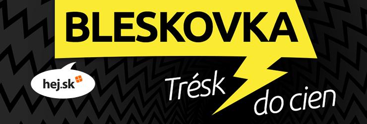 Bleskovka na Hej.sk