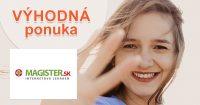 Bonusový program plný extra zliav na Magister.sk