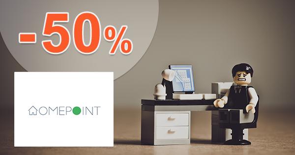 Zľavy na dekorácie až -50% na HomePoint.sk