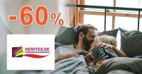 Bytový textil až do -60% zľavy a akcie na Newtex.sk