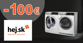 Cashback -100€ na sušičky bielizne AEG na Hej.sk