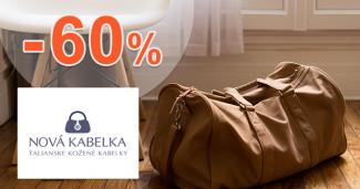 Cestovné tašky až -60% zľavy na NovaKabelka.sk