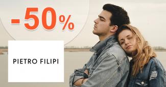 Zľavy -50% na oblečenie a módu na Pietro-Filipi.com
