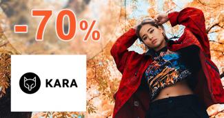 Dámska móda až -70% zľavy na KaraTrutnov.sk