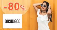 Dámska móda až -80% zľavy a akcie na Answear.sk