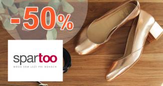 Dámska obuv v akcii až -50% zľavy na Spartoo.sk