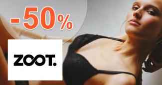 Dámska spodná bielizeň až -50% zľavy na ZOOT.sk
