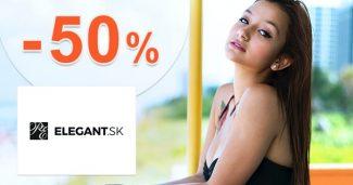Bielizeň pre tehotné až do -50% zľavy na Elegant.sk