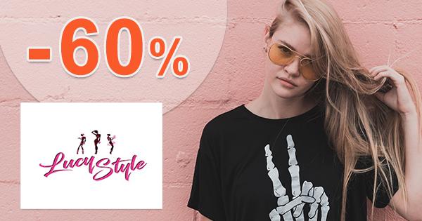 Dámske oblečenie až -60% zľavy na LucyStyle.sk