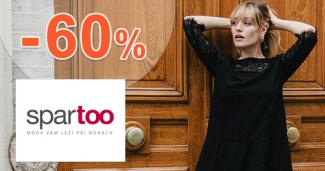 Dámske oblečenie až -60% zľavy na Spartoo.sk