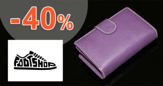 Dámske peňaženky až -40% zľavy na FootShop.sk