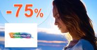 Výpredaje a akcie až -75% zľavy na Differenta.sk