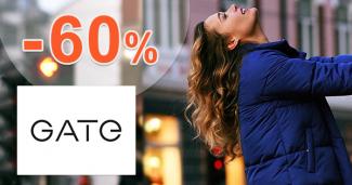 Výpredaj pre ženy až -60% zľavy na GATE.shop