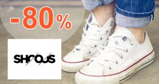 Dámsky výpredaj až -80% na Shooos.sk