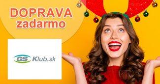 DOPRAVA ZADARMO K NÁKUPU na GSklub.sk