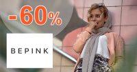 Dámsky sortiment až do -60% zľavy na BePink.sk