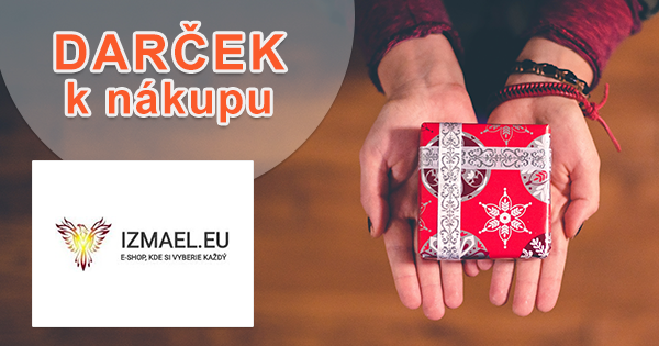 Darček k nákupu zdarma na Izmael.eu