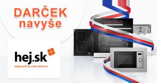 Darček navyše: Mikrovlnka za 179€ zadarmo k setom na Hej.sk