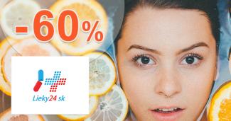 Výživové doplnky až -60% zľavy na Lieky24.sk