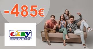 Darčekové kupóny na vysávače až -485€ na Okay.sk