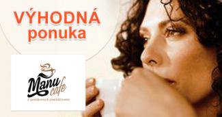 Kávové novinky zrnkovej kávy na ManuCafe.sk