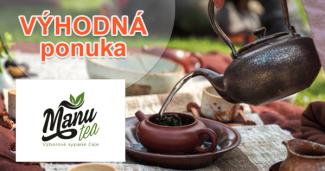 Čajové novinky sypaného čaju na ManuTea.sk