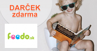 Darčeky ZDARMA ku každému nákupu na Feedo.sk