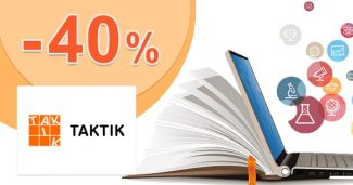 Edukačné učebnice až do -40% zľavy na Taktik.sk