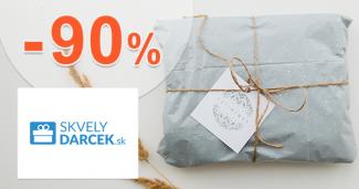Darčeky vo výpredaji až -90% na SkvelyDarcek.sk