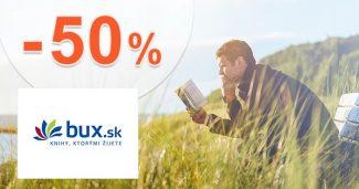 Denné nové! Zľava -50% na knihu dňa na Bux.sk