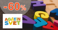 Detské hračky až -60% zľavy na AgatinSvet.sk