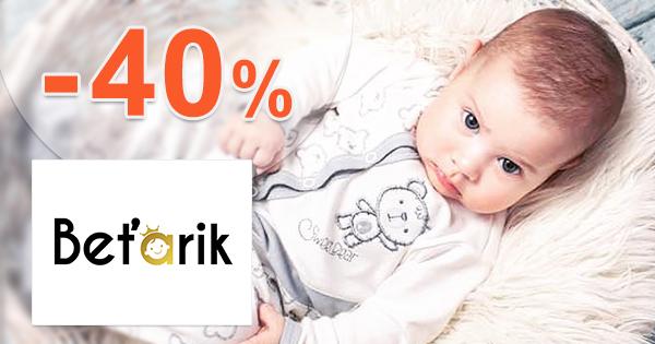 Najpredávanejší tovar v akcii až -40% na Betarik.sk