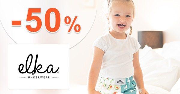 Detský sortiment až -50% na ELKA-Underwear.sk