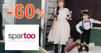 Detský outlet tovar až -60% zľavy na Spartoo.sk
