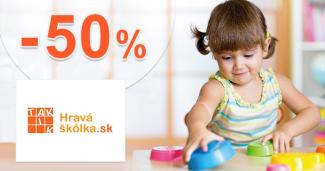 Nábytok a vybavenie až -50% na HravaSkolka.sk