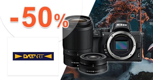 Digitálne fotoaparáty až -50% zľavy na Datart.sk
