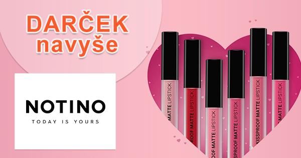 Dlhotrvajúci rúž k nákupu zadarmo na Notino.sk