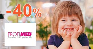 Domáca hygiena pre deti až -40% na ProfiMed.eu