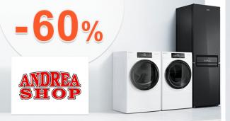 Domáce spotrebiče až -60% zľavy na AdreaShop.sk