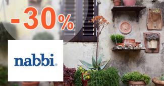 Vybavenie do domácnosti v akcii až -30% na Nabbi.sk